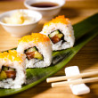 Sushi for lunch - Stock Photo