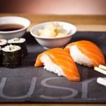 Sushi plate — Stock Photo