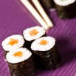 Traditional Japanese food Sush — Stock Photo