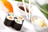 Sushi oběd sada — Stock fotografie