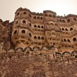 Mehrangarh Fort, Jodhpur in India - Stock Photo