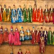 Stock Photo: Colorful handmade puppets