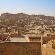 Stock Photo: View over Jaisalmer city and fort in India
