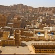 View over Jaisalmer city and fort in India — Stock Photo #9895624