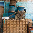 Indian wicker handicrafts — Stock Photo #9895813