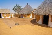 Dern aldeia na Índia — Fotografia Stock