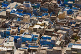 "Jodhpur the ""blue city"" in Rajasthan state in India. — ストック写真"