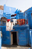 A view of Jodhpur, the Blue City of Rajasthan, India — Stock Photo