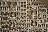 Ranakpur relieves de los templos jainistas de la india — Foto de Stock
