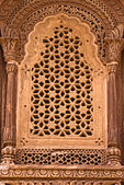 Indian wall carvings — Stock Photo