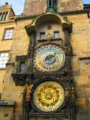 Det astronomiska uret i praga — Stockfoto