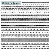 Decorative borders — Stock Vector