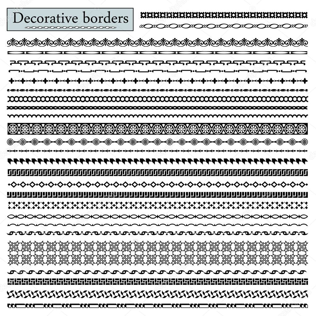 Decorative Border Designs Decorative Borders