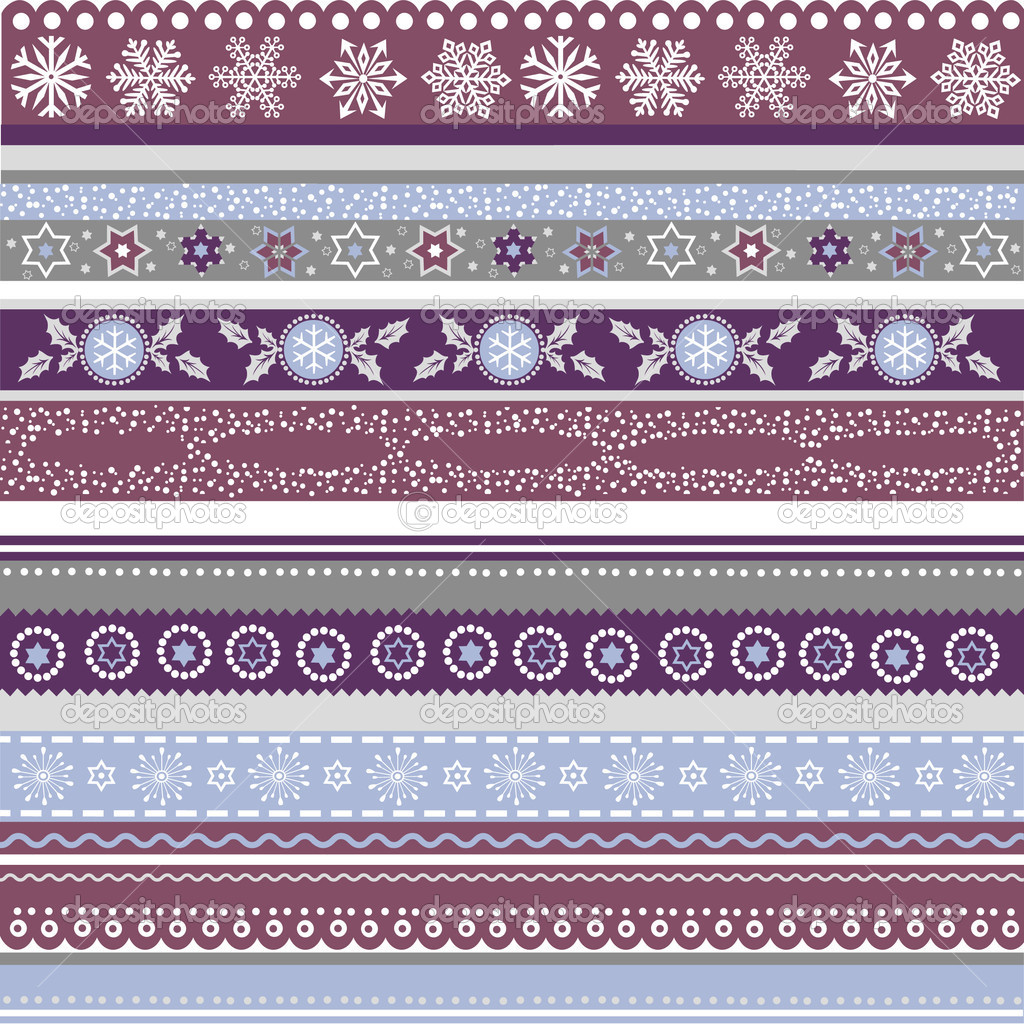 Vector Christmas background with snowflakes — Stock Vector #8150204