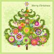 Christmas tree — Stock Vector #8170583