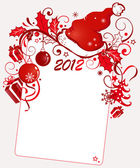 New-Year background — Stock Vector