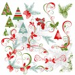 Vector de stock : Elements for christmas design