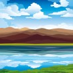 Vector landscape — Stock Vector #8226239