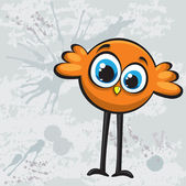 Cartoon bird — Vector de stock