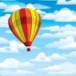 Royalty-Free Stock Imagen vectorial: Colored balloon