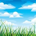 Green grass — Stock Vector #8545410