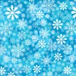 Royalty-Free Stock Vektorgrafik: Snowflakes background
