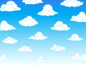 Clouds 01 — Stock Vector