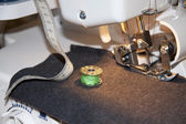 Sewing machine and accessories — Stockfoto