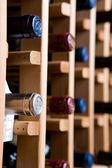 Bottles of Wine In Cellar — Stock Photo