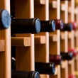 Bottles of Wine In Cellar — Stock Photo #8233044