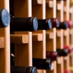 Bottles of Wine In Cellar — Stock Photo #8233044