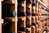 Bottles of Wine In Cellar — Stock Photo