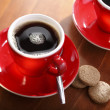 A cup of drip coffee - Stock Photo