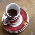 Empty coffee cups — Stock Photo