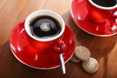 A cup of drip coffee — Stock Photo
