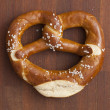Selected pretzel — Stock Photo
