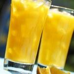 Freshly squeezed orange juice — Stock Photo #8087916