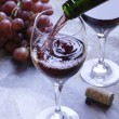 Pouring wine — Stock Photo #8088253