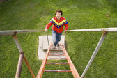 Up the stairs — Stock Photo