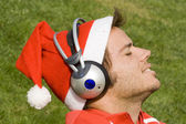 Music for christmas — Stock Photo