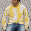 Royalty-Free Stock Photo: The Stripes men