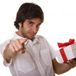 A gift for you - Stock Photo