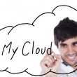 My cloud — Stock Photo