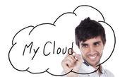 「俺の雲 — ストック写真