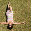 Relax on the grass — Stock Photo
