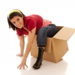 Thinking outside of the box — Stock Photo #8436441
