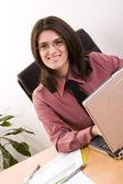 Başarılı iş kadını — Stok fotoğraf