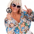 Hippie style — Stock Photo