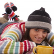 Stock Photo: Happy winter