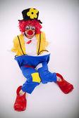 Rolig clown滑稽小丑 — 图库照片